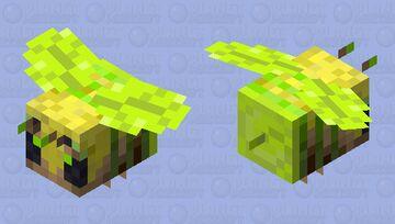 Jungle bee! [Biome swap contest skin] Minecraft Mob Skin
