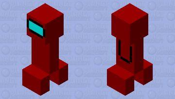 Sus Creeper Minecraft Mob Skin