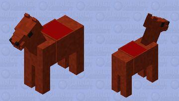 SCP-3456 horse part Minecraft Mob Skin