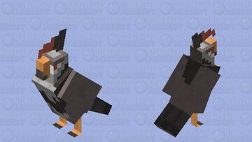 Staraptor - Pokemon Parrot Replacer Minecraft Mob Skin