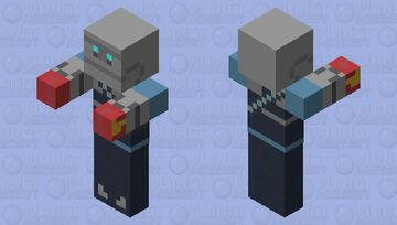 robot heavy with boxing gloves Minecraft Mob Skin