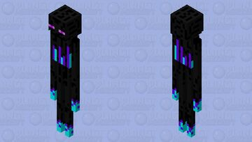 better and cooler enderman Minecraft Mob Skin