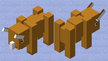 Triceretops Minecraft Mob Skin