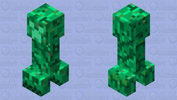 glow creeper Minecraft Mob Skin