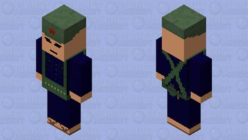Vietcong Vindicator (Cap) Minecraft Mob Skin