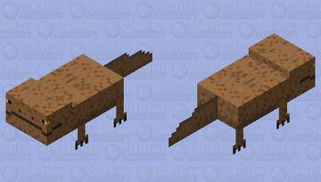Giant Salamander Minecraft Mob Skin