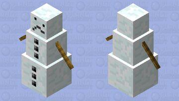 Sad Golem Minecraft Mob Skin
