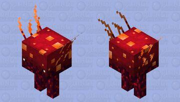 Crimson Fungus Strider Minecraft Mob Skin
