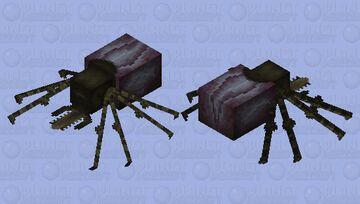 Big fat tick Minecraft Mob Skin