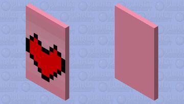 heart cape Minecraft Mob Skin