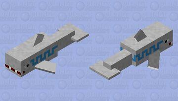 Cloud Shark (Orespawn) Minecraft Mob Skin