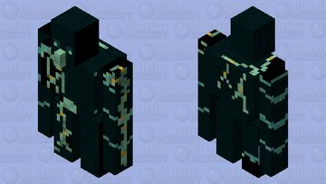 Glow Golem Minecraft Mob Skin