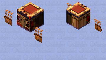 Donkey Kong Country Returns - Tiki Tong Minecraft Mob Skin
