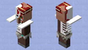 Zombie Librarian Villager Update Minecraft Mob Skin