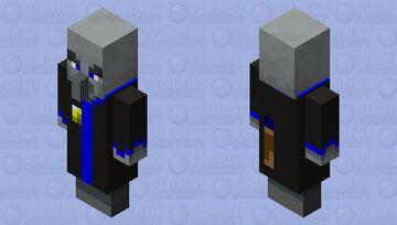 Cryo wizard Minecraft Mob Skin