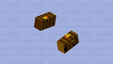 killer bee hive Minecraft Mob Skin