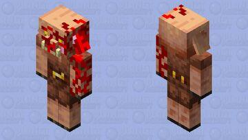 Corrupte piglin Minecraft Mob Skin