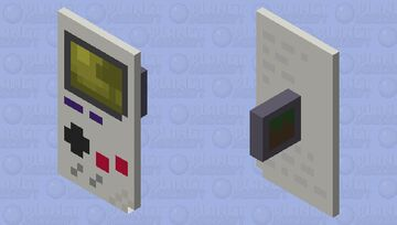 GameBoy Shield Minecraft Mob Skin