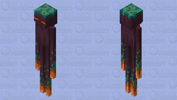 The Enderman (Remade (From Warped Forest) Minecraft Mob Skin