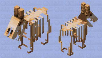 skeleton goat Minecraft Mob Skin