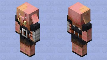 Revived Piglin Brute Minecraft Mob Skin