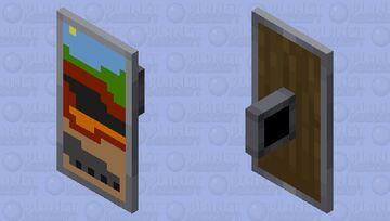 Multi Dimension Shield :D Minecraft Mob Skin