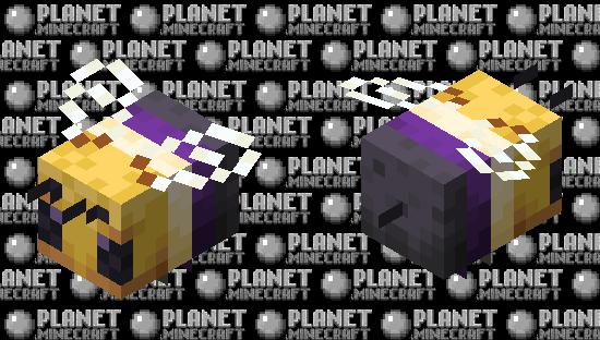 non-binary bee Minecraft Skin