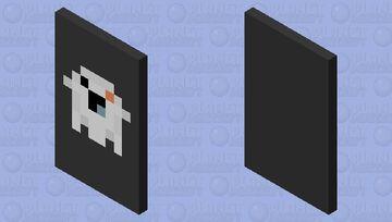 Ghost Cape Minecraft Mob Skin