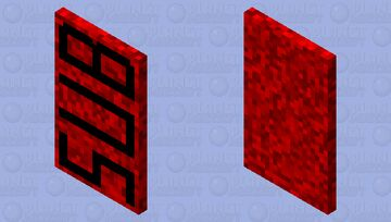 Subscribe Cape Minecraft Mob Skin