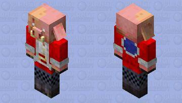Technoblade Minecraft Mob Skin