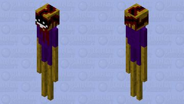 The lonely enderman Minecraft Mob Skin