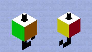 Rubix bobber Minecraft Mob Skin