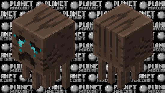 Updated Soulsand Valley Ghast Minecraft Skin