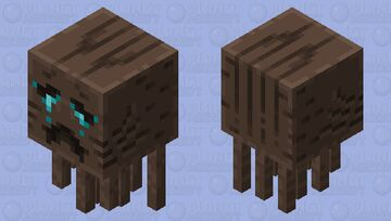 Updated Soulsand Valley Ghast Minecraft Mob Skin