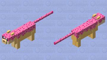 Strawberry Shortcake Cat Minecraft Mob Skin