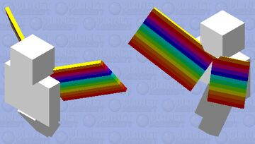 rainbow vex Minecraft Mob Skin