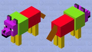 FriutsWolf Minecraft Mob Skin