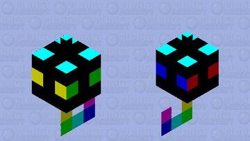 Rubix (fishing bobber) Minecraft Mob Skin