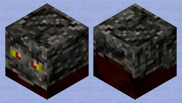 Skull cube Minecraft Mob Skin