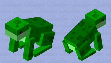 Froggu Minecraft Mob Skin