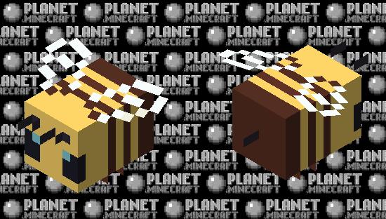 Smooth Bee Minecraft Skin