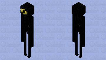 """[ > """"Sanity? = 0%"""" ] (Enderman) Minecraft Mob Skin"""