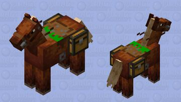 grass block saddle Minecraft Mob Skin