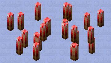 Flying parasites Minecraft Mob Skin