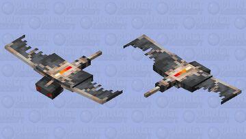 Furnace Phantom Minecraft Mob Skin
