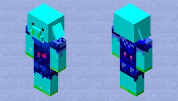 Ocean Piglin Minecraft Mob Skin