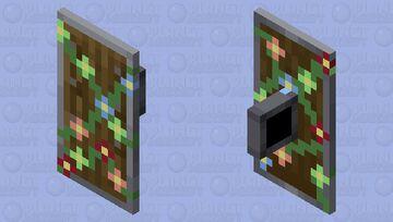 flowering vine Shield Minecraft Mob Skin