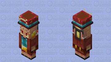 wandering piglin/ morshu piglin Minecraft Mob Skin