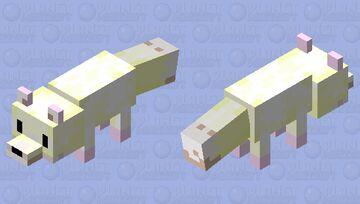 Candy-Coated Fox Minecraft Mob Skin