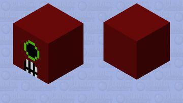 Cacodemon Minecraft Mob Skin